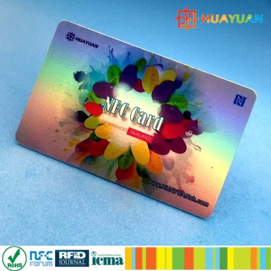 High sercurity EPC1 Global Gen2 Monza 4 UHF PVC smart RFID Card pictures & photos
