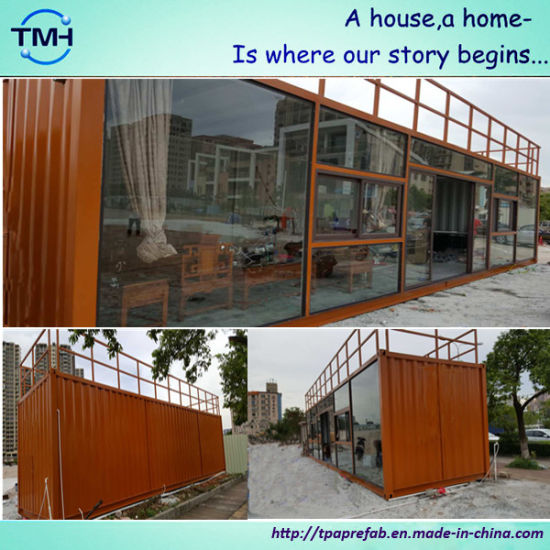 Low Cost Container Houses for Labor pictures & photos