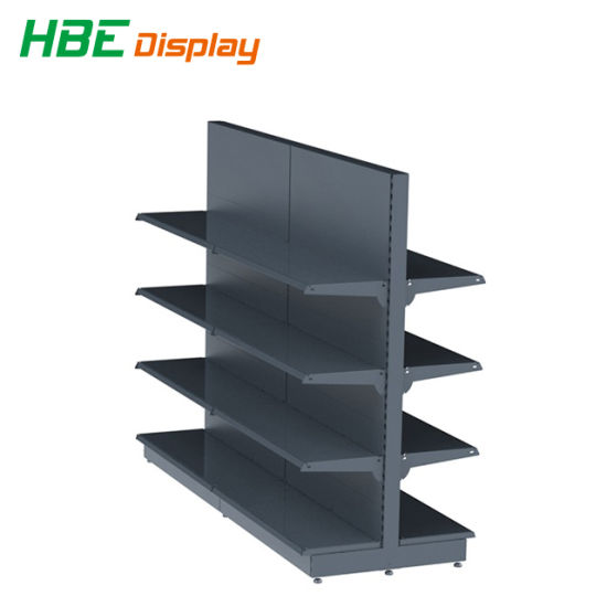 Supermarket Racking System with Gondola Shelving pictures & photos