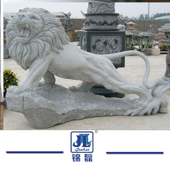 Stone Sculpture Hand Crafted Animals Granite/Marble Lion for Garden Decoration/House pictures & photos
