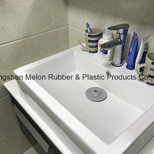 Bathroom Kitchen Sink Filter Strainer Hair Blocker Shower Drain Cover Silicone