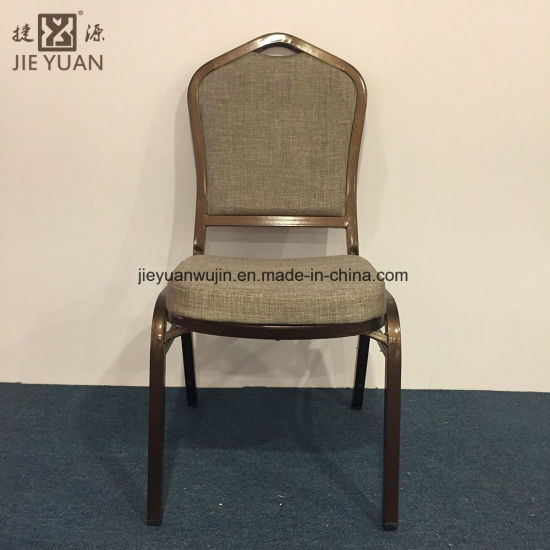 Duable Hotel Iron Stacking Banquet Dining Chair