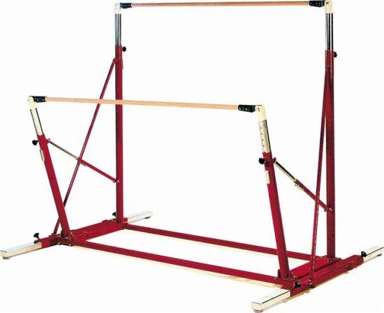 36bef50fe841 Fig Indoor Kids Adjustable Gymnastic Uneven Bars Equipment with Mat for Sale