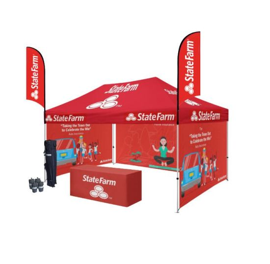 Commercial Grade Aluminium Folding Tent with Custom Printing pictures & photos