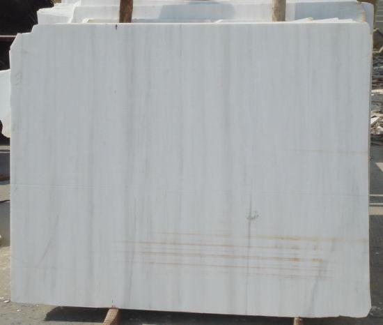 China Bianco Dolomite Marble Slab For