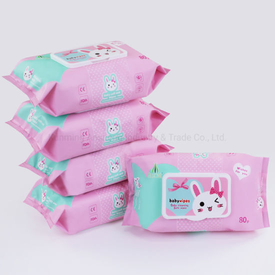 Wholesale Baby Wet Wipe Manufacturer in China Guangzhou Private Label Non Alcohol Ultra Compact Disposable Cheap Factory Price