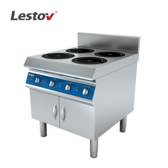 Four Burners Commercial Induction Cooker