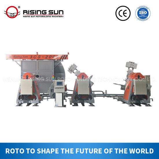 New Rising Sun Award Winning Shuttle Rotomolding Machine