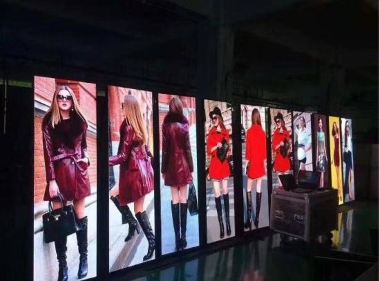 Airport and Shopping Mall P2.0mm / P2.5mm Indoor Smart LED Poster