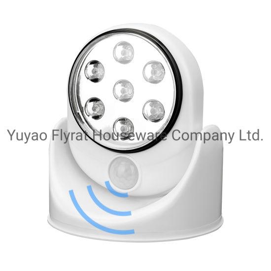 Auto Sensor 7 LED Lights 180 Degree