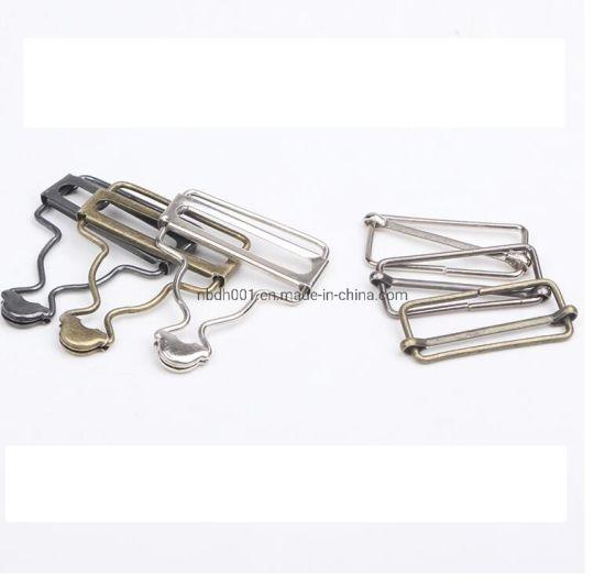 38mm Adjuster Alloy Metal Buckle Hook Calabush for Jeans/Garment Accessories