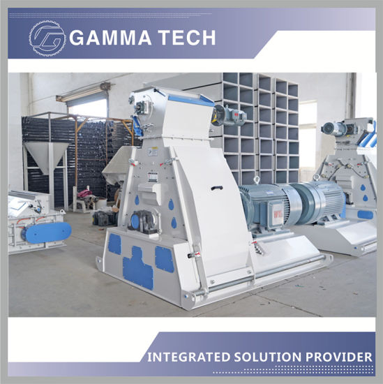 1-2t/H Cereals Grain Wheat Corn Hammer Mill Grinder for Sale