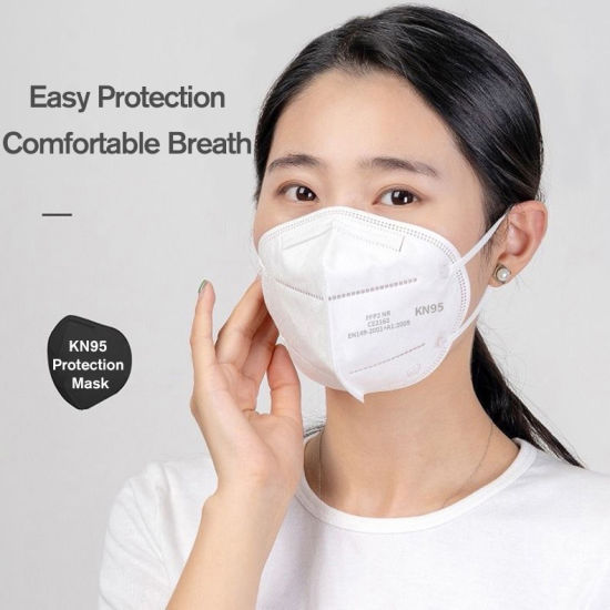 Foldable and Reusable FFP2 Masks KN95 Face Mask Ce Notified Body Universal