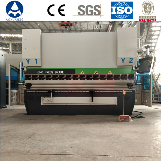 Automatic Stainless Steel 300t 3200mm 4+1 Axis Hydraulic Press Brake Machine