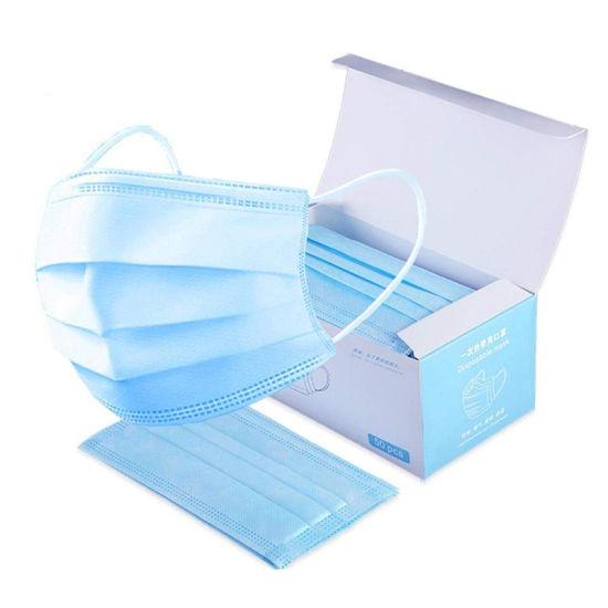 Surgical Mask Disposable Face Mascarillas Faciales Desechables Valve Washable Reusable Cotton Medical Particulate Respirator Wholesale Dust Face 3 Ply