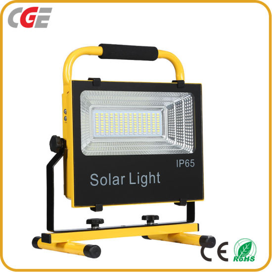 High Quality Rechargeable IP65 100watt Integrated All in One Solar LED Flood Light