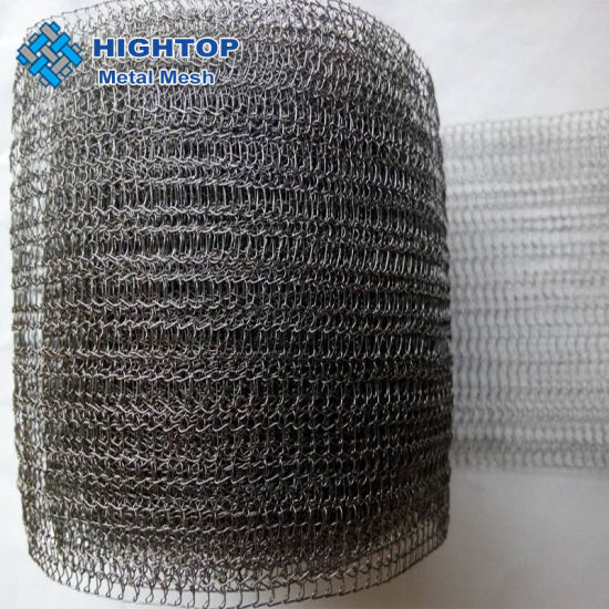 Inconel  Knitted Wire Mesh for Dust Removal and Engine Silencer