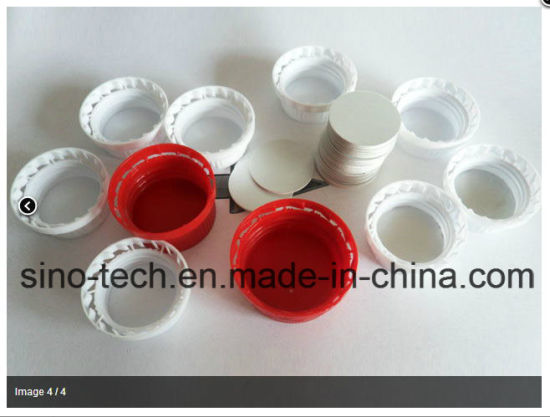 Automatic Plastic Bottle Cap Wadding Lining Foil Inserting Machine pictures & photos