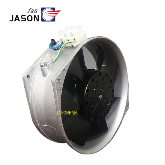 172X150X55mm 230VAC 17255 Oval Axial Flow Fan Fj16052mabd for Enclosures