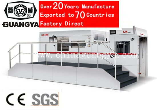 Automatic Die Cutting Machine with Stripping for Large Size Paper 1060*770mm (LK106MF)