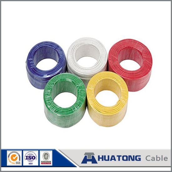 China CCA Wire Electrical House Wiring Single Strand Copper ... on