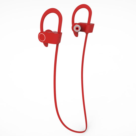 Sports Stereo Headset Newest Wireless Bluetooth Ear Phone with Ear Hook