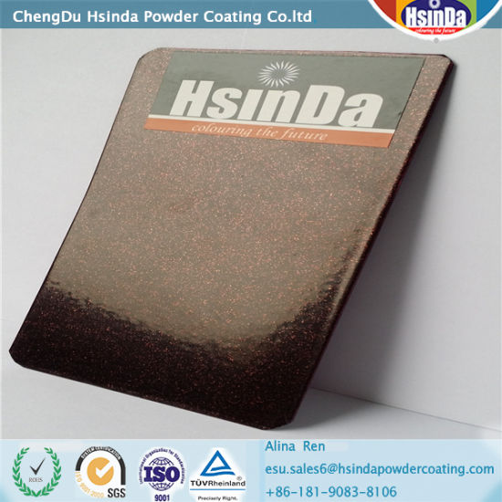 Metallic Effect Epoxy Polyester Powder Coating pictures & photos