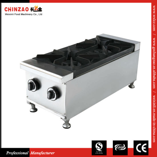 Commercial Stainless Steel Cast Iron Counter Top Gas Cooker LPG Gas Burner