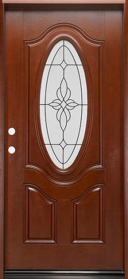 China Soundproof Double Leaf Fiberglass Composite Interior Entry