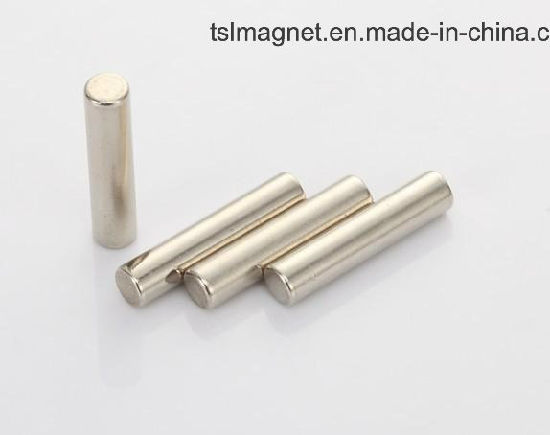 High Performance Sintered Permanent Neodymium Rod Magnet pictures & photos