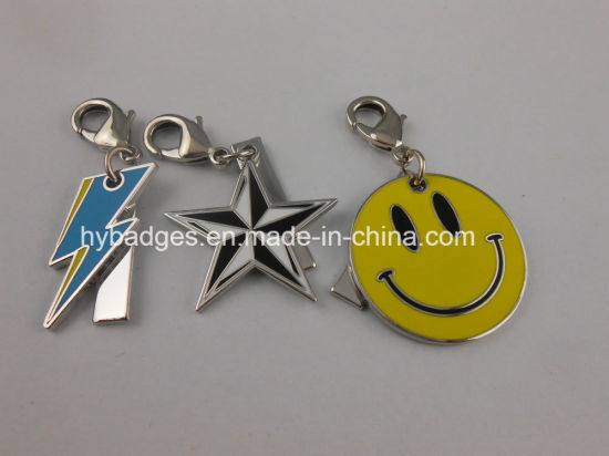 Long Skirt Keychain with Soft Enamel Badge (GZHY-YSK-0034) pictures & photos