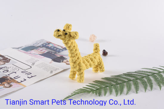 Hot Sale Colorful Chewing Rope Pet Dog with Toy Manufacturer