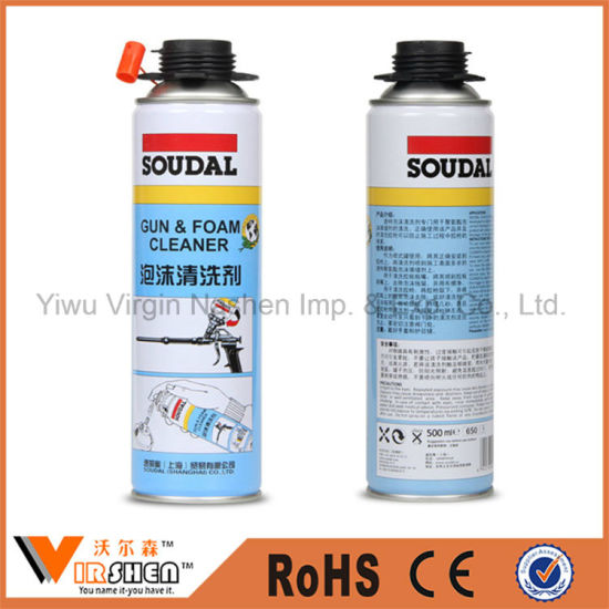 All Purpose Insulation Spray PU Foam Cleaner Polyurethane Foam Cleaner Waterproof pictures & photos