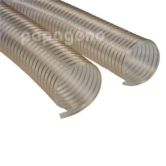Flex-Tube PU Polyurethane Duct Hose 25 Length Clear 0.040 Wall 10 ID