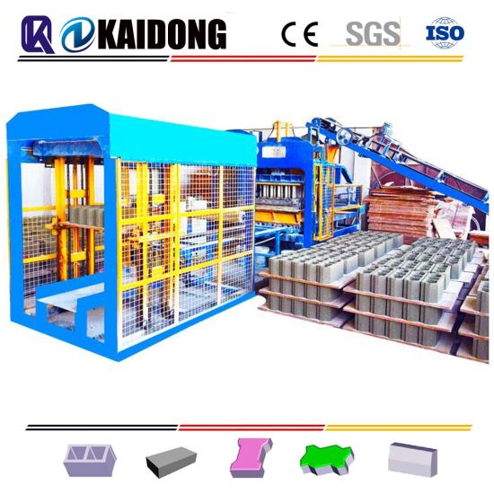 New Type Qt4-15 High Quality Automatic Concrete Block Machine|Cement Brick Making Machine Hollow Block Making Machine|Paver Brick Machine