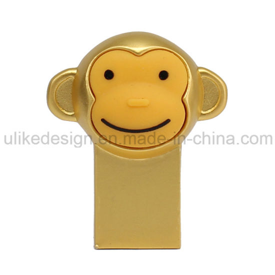 Gold Monkey Style USB Flash Drive (UL-M018) pictures & photos
