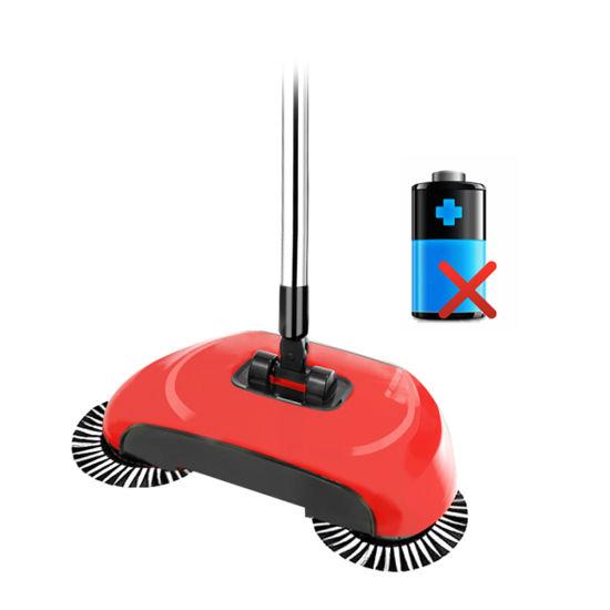 Powerless Floor Sweeper Spin Broom