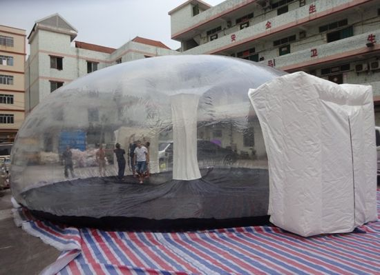 Outdoor Camping Bubble Tent Inflatable Igloo Tent Clear Dome