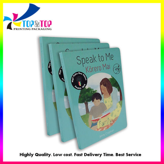 Customized Print Hard Cover Children Picture Story Education Bound Book Printing on Demand