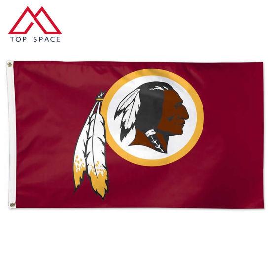 NFL Sports Flying Banner Washington Redskins Flag