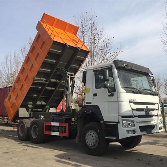 China Brand New Sinotruk HOWO 6X4 Dump Tipper Truck