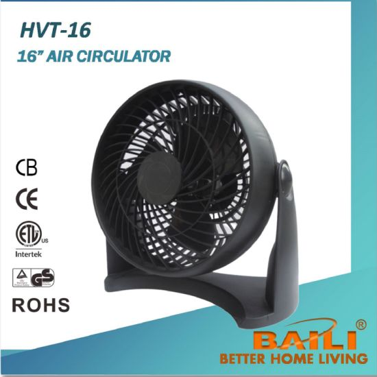 "Good Quality 12"" Air Circulator Fan / Box Fan / Turbo Fan pictures & photos"