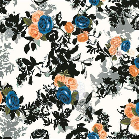 100 Pure Natural Silk Digital Printing Silk Fabric Sz 0034