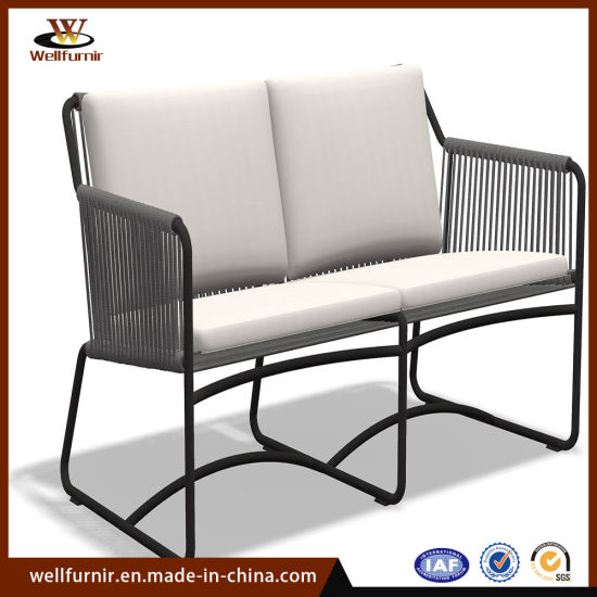 Outdoor Leisure Garden Home Aluminum Dining Furniture with Cushion pictures & photos