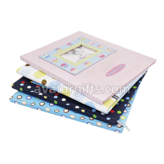 Fashion Notebook with Velcro Closure