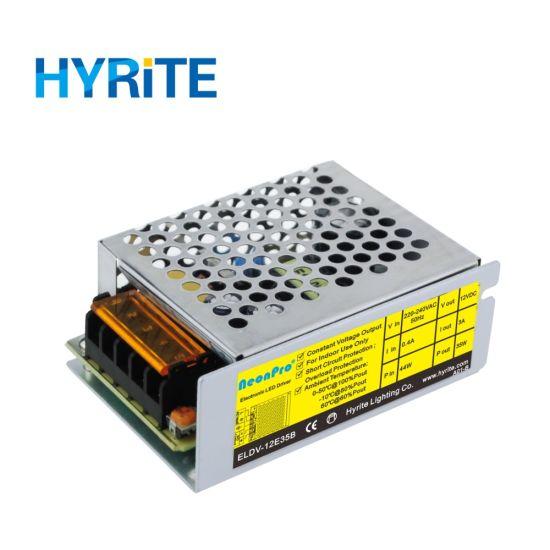 60W 12V Constant Voltage Indoor LED Transformer for LED Strips