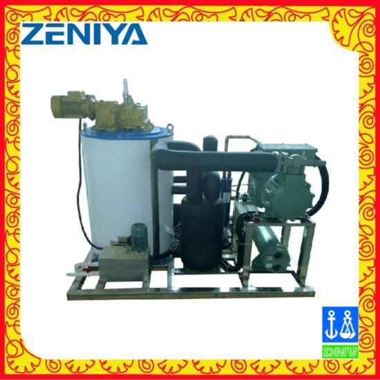 Seawater Flake Ice Machine for Seafood Processing/Fishery