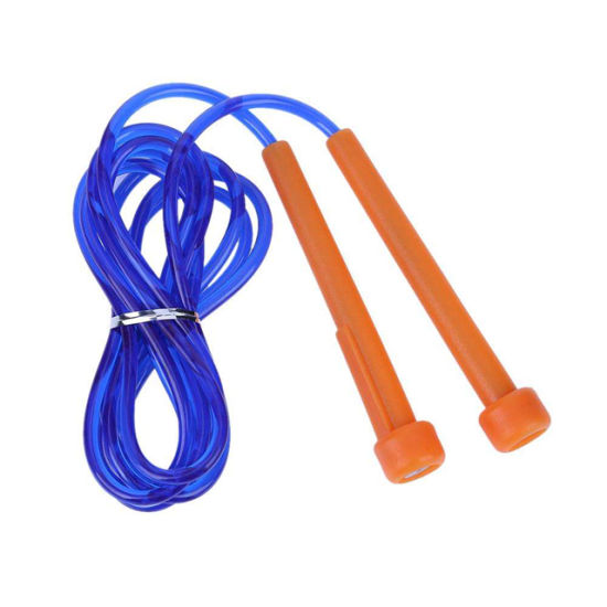Wholesale Home Fitness Equipment Speed Jump Rope PVC Skipping Rope