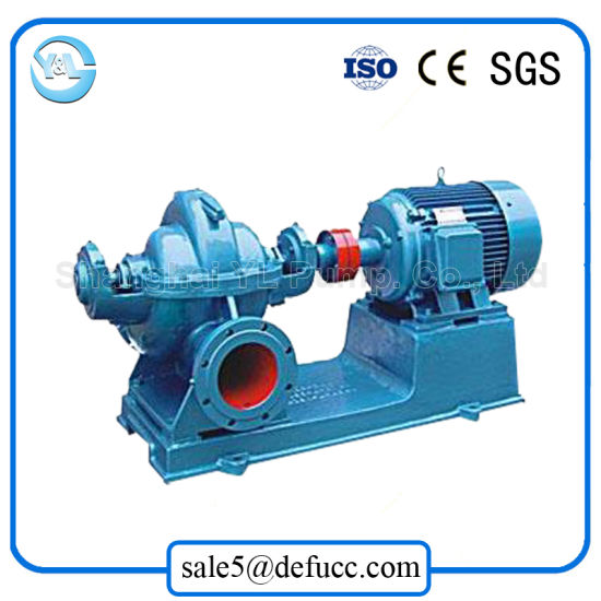 Horizontal Single Stage Split Case Large Capacity Electric Water Pump pictures & photos