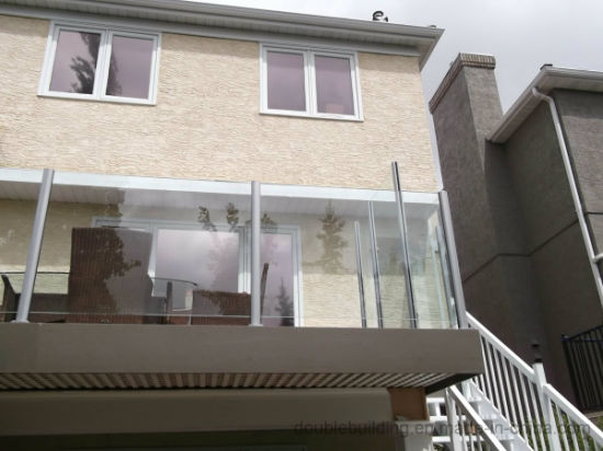 Galvanizing Aluminum Railing Glass Balustrade pictures & photos